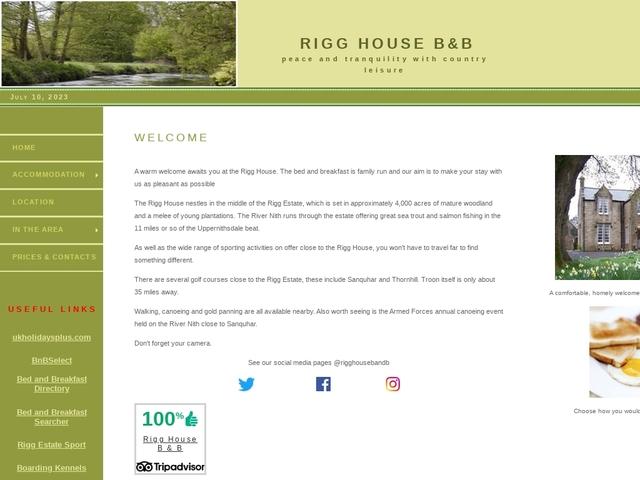 Rigg House - Kirkconnel - Dumfriesshire.
