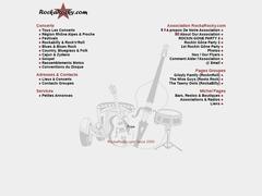 RockaRocky.com - Agenda Info Concert