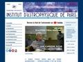 Site de l'Institut d'Astrophysique de PARIS