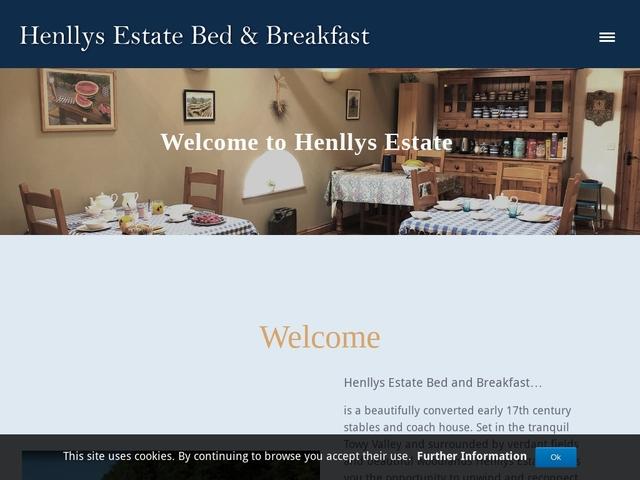 Henllys Estate B&B - Llandovery - Carmarthenshire - Wales