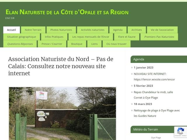 Elan naturiste de la Côte d'Opale et de sa Région