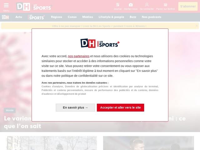 DH.be - Toute l'actualité belge, internationale et sportive