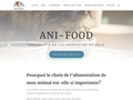 Ani-food - une alimentation naturelle