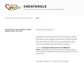 Cheatoogle: Cheat search engine, Directory and more!
