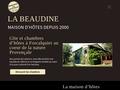 Bergerie La Beaudine gîte Forcalquier Alpes de Haute-Provence