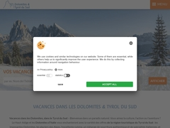 Sud Tyrol - Dolomites - Vacances Hôtel Pensions