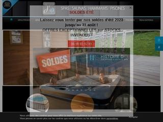 Histoire d'O, spa intérieur et sauna haut de gamme