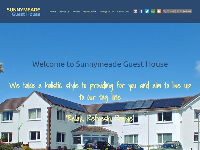 Sunnymeade Guest House - Woolacombe - Devon - England