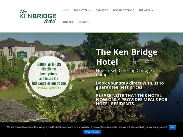 The Ken Bridge Hotel - Kirkcudbrightshire - Dumfries and Galloway.