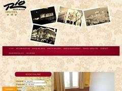 Rio Hotel - Quartier Métaxourgio - Athènes