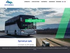 TRIPOLI - bus KTEL Arkadia (Péloponnèse) - Lignes inter-villes.