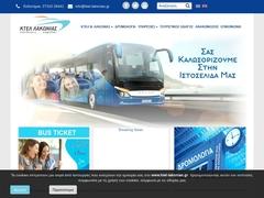 SPARTE - bus KTEL Laconie (Péloponnèse) - Lignes inter-villes