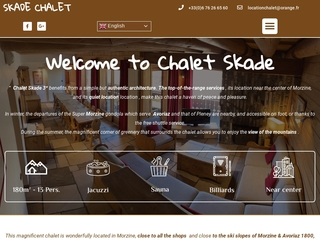 Chalet Morzine, location chalet Skade Morzine