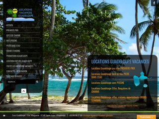 Location gîte Guadeloupe