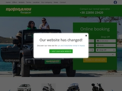 Car rentals in Naxos, Car, ATV - Moto Naxos
