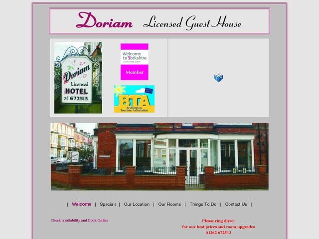 Doriam B&B - Bridlington - England.