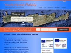 Rethymnon - Plakias Youth Hostel - Crète