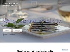 Open Garden Restaurant  - Naoussa