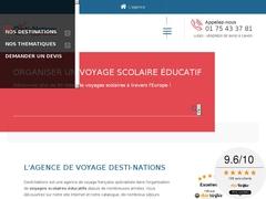 Desti-Nations : Voyage scolaire thématique en Europe