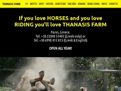 Horse Riding Thanassis Farm - Paros