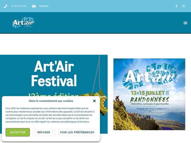 Art Air Festival en Auvergne !