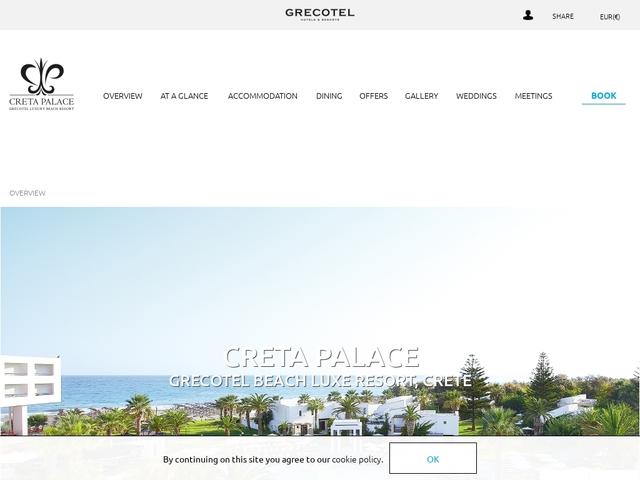 Creta Palace Hotel - Luxury Collection ***** - Rethymnon/Crete