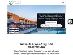 Rethymno Village - Ξενοδοχείο 3 * - Πλατανιάς - Ρέθυμνο - Κρήτη