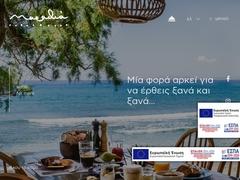 Tinos - Marathia restaurant - Agios Fokas
