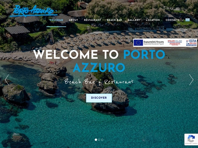 Zante - Porto Azzuro Beach Bar -Vassilikos