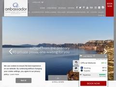 Ambassador Hôtel - Luxury Collection***** - Akrotiri/Santorin