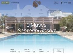 9 Muses hotel - Luxury Collection***** - Perivolos/Santorin