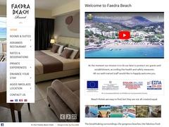 Faedra Beach - Luxe **** - Amoudara/Lassithi/Crète