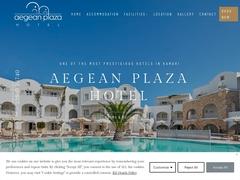 Aegean Plaza - 4 * Hotel - Kamari - Santorini - Cyclades