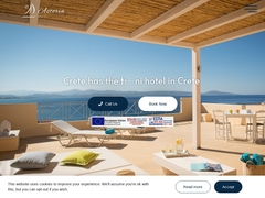 Astoria - Hôtel 2 * - Agia Galini - Rethymnon - Crète