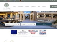 Atlantis Beach - ξενοδοχείο 5 * - Παραλίες στο Ρέθυμνο - Κρήτη