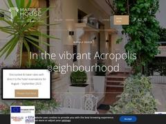 Marble House Hôtel - Quartier de Koukaki - Athènes