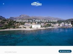 Creta Mare - Hotel 1 * - Plakias - Rethymnon - Crete