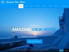 Agios Stefanos - Amazing View Hotel