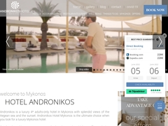Andronikos Hotel - 4 * Hotel - Drafaki - Mykonos - Cyclades