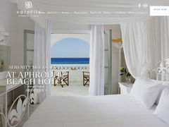 Aphrodite Beach Resort Hotel - 4 * Hotel - Kalafati - Mykonos