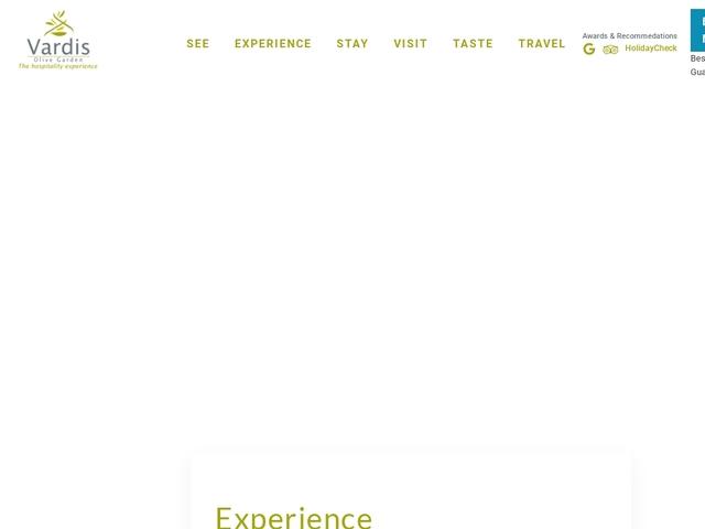 Vardis Olive Hotel - La Canée/Chania
