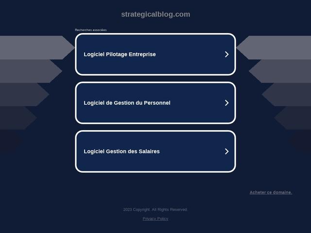 StrategicalBlog