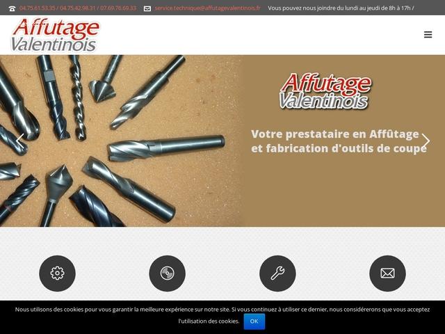 Affûtage Valentinois sas - (26) - Fabricant-Affûtage Outils