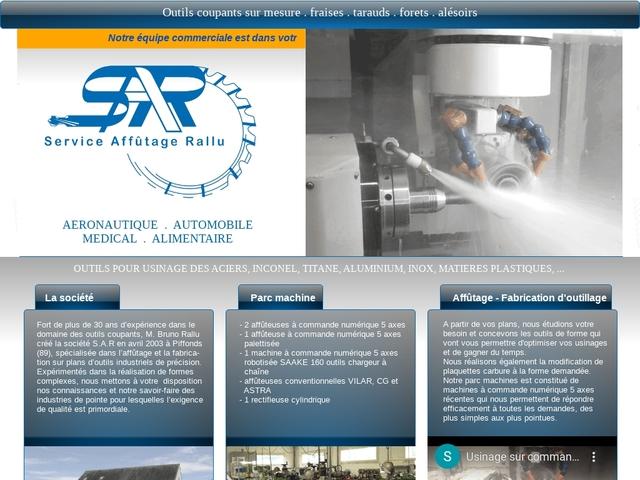S.A.R Sarl - (89) - Fabricant-Répar-Affûtage Outils spéciaux