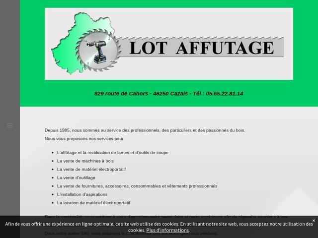 Lot Affûtage Sarl - (46) - Affûtage Outils coupants-tranchants