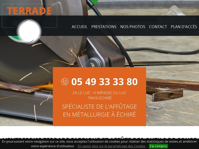 Terrade Sarl - (79) - Fabricant-Rectif-Affûtage Outils coupants
