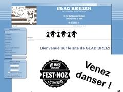 Glad Breizh - Accueil