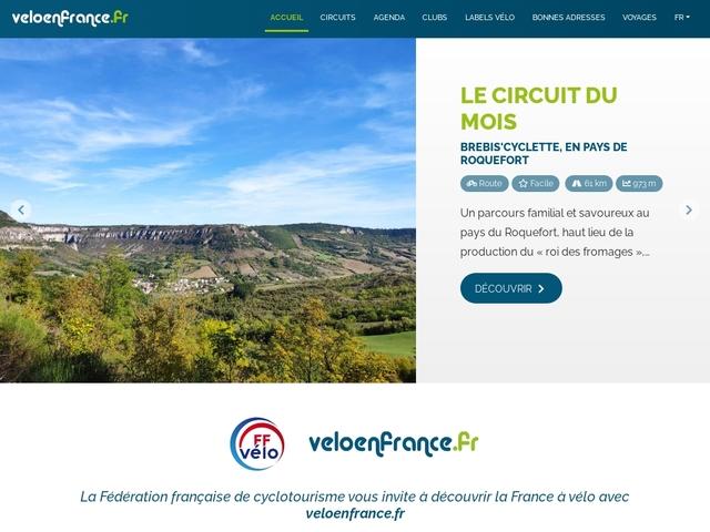 Veloenfrance : circuits, grands itinéraires et tourisme à vélo