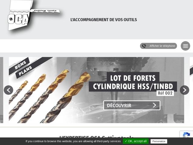 OCA Outils Coupants Sarl - (59) - Fabricant-Affûtage Outils
