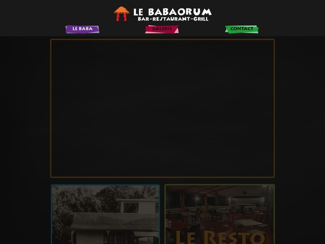 Le Babaorum Restaurant Bar Fort-de-France Martinique